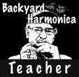 The Backyard Harmonica Teacher logo.