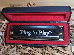 The full-sized Plug 'n Play diatonic harmonica